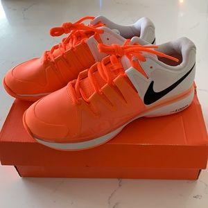 Nike Zoom Vapor 9.5 Tour Shoe Orange Sz6.5 NWT